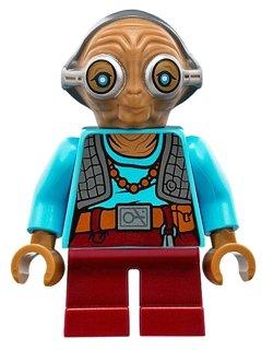 Lego Star Wars Minifigur Maz Kanata sw703 aus 75139 Episode 7