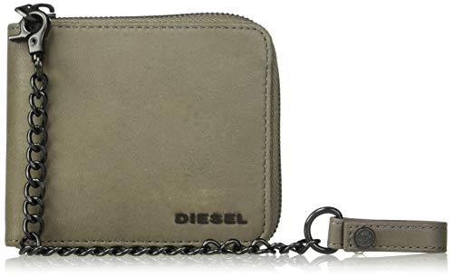 (ディーゼル) DIESEL ユニセックス 二つ折り財布 X06290P2249 UNI グリーン T7298
