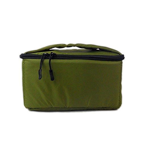 DRF Kameratasche für SLR Kamera Wasserdichte Systemtasche Objetivtasche #BG-170 (Grün)