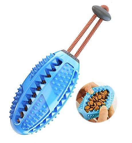 Hundespielzeug Kauspielzeug,Hundezahnbürste Hundespielzeug Kauspielzeug,kugelförmiger Futterspender für die Zahnpflege von Hunden,Bürste und Kauspielzeug,ungiftige,bissfeste Hundezahnbürste