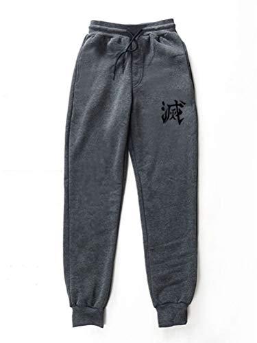Tomwell Demon Slayer Estampados Pantalones Deportivos para Hombre Mujer Pantalón de Chándal Largo...