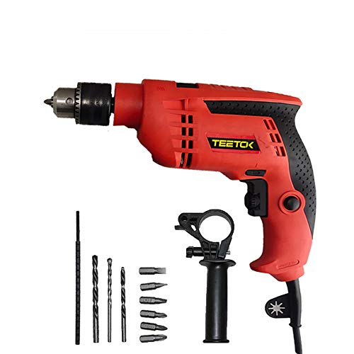 Corded Impact Drill 650W Electric Screwdriver Powerful...