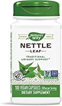 Nature's Way Nettle Leaf 435 mg, TRU-ID Certified, Non-GMO Project, Vegetarian, 100 Count, Pack of 2