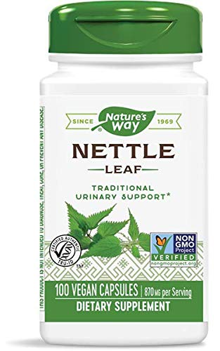 Nature's Way Nettle Leaf 435 mg, TRU-ID Certified,...
