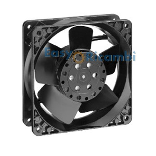 Easyricambi Ventilatore ASSIALE per Stufa A Pellet Ventola in Metallo 120X38 19W EBMPAPST EBM PAPST 4650N