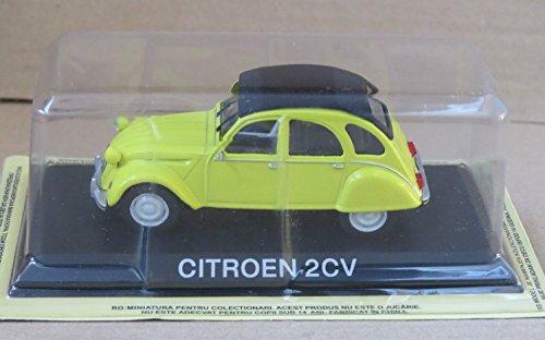 Générique Citroen 2CV Voiture Miniature Collection 1/43 IXO IST Legendary Car Auto B04