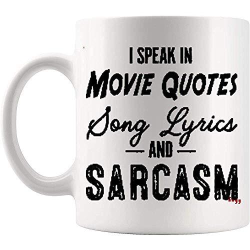 Inspiration Mug Kaffeetasse   Sprechen Sie Film Zitate Song Lyrics Sarkasmus Mitarbeiter Motivation   Mitarbeitermotivation, 11 Unzen (330 ml)