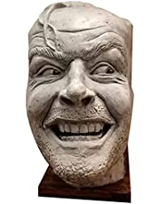 Sculpture Of The Shining-Bookend-Library-Here S Johnny Sculpture, Jack nicholson joker figure, For Resin Desktop Ornament