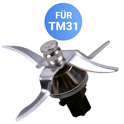 Messer für Vorwerk Thermomix TM 31 Küchenmaschine inkl Dichtung Ersatzteile