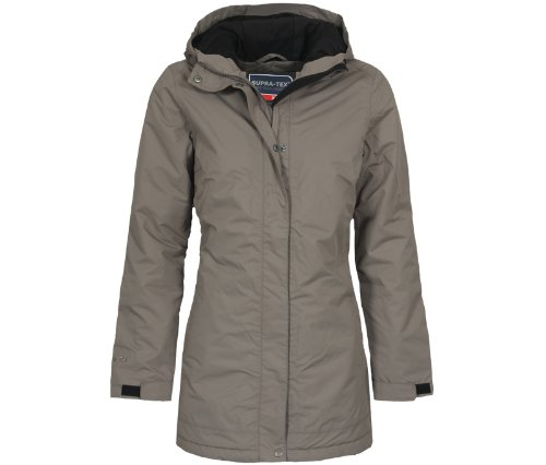 Bergson Damen Outdoor Wintermantel ALBA, Bungee Cord [780], 44 - Damen