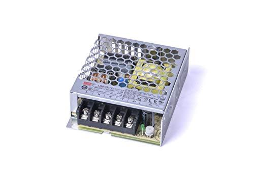 KingLed - Mean Well Alimentatore AC/DC Modello LRS-35-12 da 35W 12V Trasformatore Switching Non Impermeabile IP20 Per Prodotti a Led Meanwell Serie LRS cod. 1988
