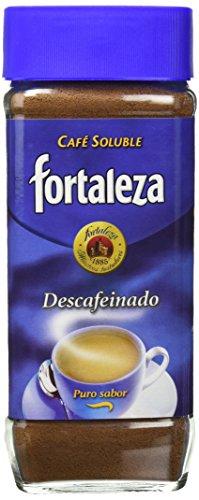 Café Fortaleza Café Soluble Frasco Descafeinado - 200 gr - [Pack de 3]