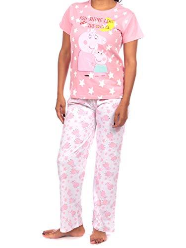 Peppa Pig - Pijama para Mujer - Mama Pig - Large