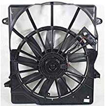 Dual Radiator and Condenser Fan Assembly - Cooling Direct For/Fit 07-11 Dodge Nitro