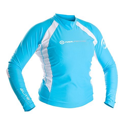 Neil Pryde Elite Rashguard Womens - Blue/White 14 (L)