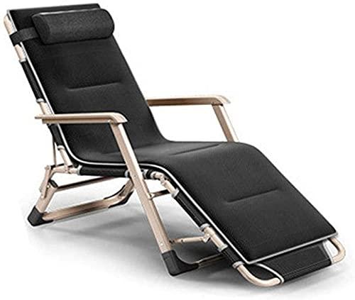 SACKDERTY Sillas al aire libre, reclinable ligero de gravedad cero, silla de cubierta Teslin, silla de cubierta de jardín de doble cara