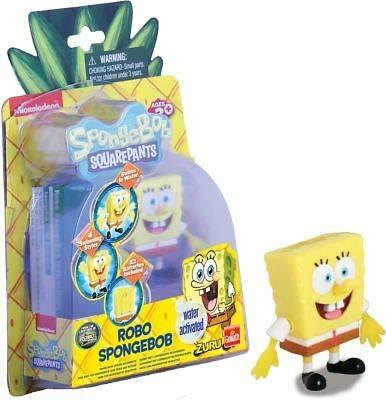 Zuru Spongebob Schwammkopf Spielfigur - schwimende Spongebob Figur in 4 Schwimmstile