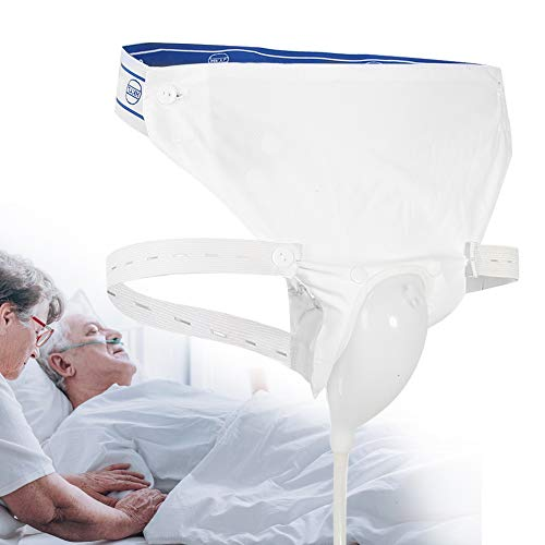 Urinsammler aus Silikon mit 2 Urin-Kathoterbeuteln, 3 optionale Typen für Männer, ältere Frauen (Altersgruppe)
