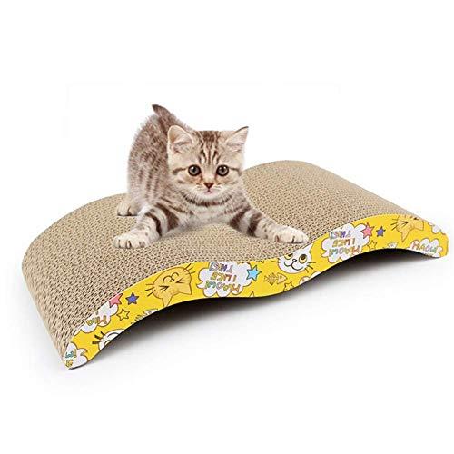 AYCPG Gato Rascarse Rascador Gato Postal rasguño Mensajes Gato Gato de cartón Scratchers Gatos Rascadores Muebles arañazos de Gato Guardia Junta Rascar lucar