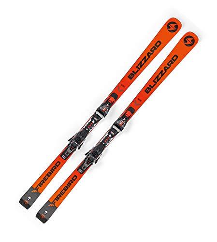 Blizzard Erwachsene Firebird Ski Orange Schwarz, 180cm