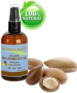 Macadamia aceite 100% puro, prensado en frío trägeröl–60ml. Para gesünder aspecto piel.