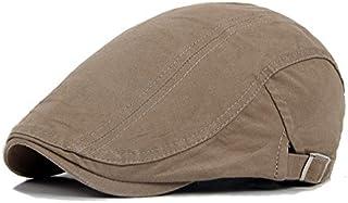قبعة بريتيش ويند قطنية للرجال والنساء، قبعة الرسام على شكل لسان البطة، قبعة بحافة امامية
