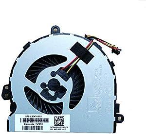 Laptop CPU Fan for HP 15-DA0012CY 15-DA0012DX 15-DA0013CY 15-DA0014CY 15-DA0014DX 15-DA0014LA 15-DA0015CY 15-DA0016CY 15-DA0016LA 15-DA0016TU 15-DA0017CA DC5V 0.4A UMA