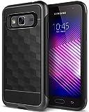 Caseology Parallax for Samsung Galaxy J3 Case (2016) - Award Winning Design - Black