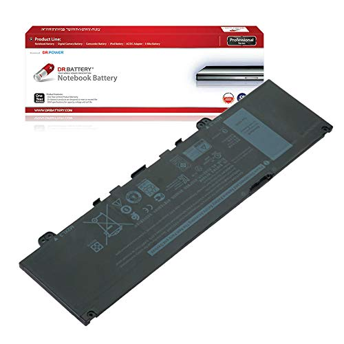 DR. BATTERY Laptop Battery for Dell 0RPJC3 F62G0 F62GO RPJC3 Inspiron 13 5370/13 7370/13 7373/13 7380 Vostro 13 5370 [11.4V/3166mAh/38Wh]