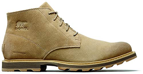 Sorel - Men's Madson Chukka Waterproof Boots, Suede, Crouton, 9 M US