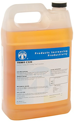 TRIM Cutting & Grinding Fluids C320/1 High Lubricity Synthetic Coolant, 1 gal Jug