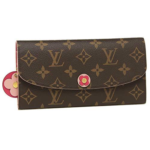 [ルイヴィトン]長財布 レディース LOUIS VUITTON M68313 ブラウン ピンク [並行輸入品]