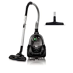 Philips FC8477 / 91 bagless vacuum cleaner PowerPro Compact (750 W, 1,5 L dust volume, integrated accessories) gray