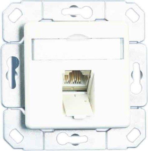 Unbekannt Metz Connect Anschlussdose,Kat.6 TN E-DATC6-1Upk-rws 1xRJ45,Upk,rws Kommunikationsanschlussdose Kupfer 4250184115762