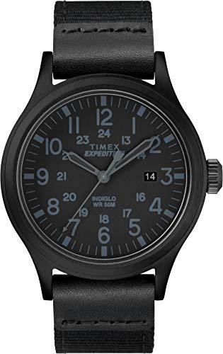 Timex Herren Analog Klassisch Quarz Expedition Scout 40 mm Uhr mit Stoff Armband TW4B14200