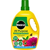 Image of Miracle-Gro 119386 All Purpose Concentrate Liquid Plant Food 2.5 Litre, Yellow
