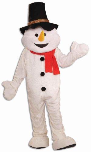 Big Sale Snowman Plush Economical Mascot Adult Costume One-Size