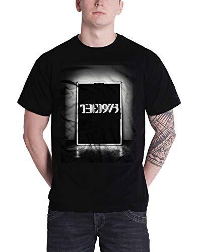The 1975 T Shirt band logo Schwarz Tour Nue offiziell Herren Schwarz Shirt