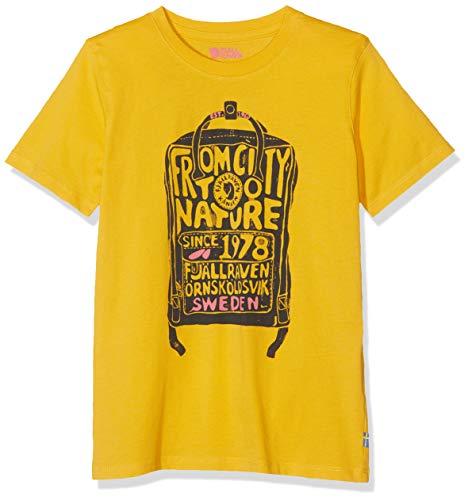 FJALLRAVEN Unisex-Kinder Kånken Kids T-Shirt Hemd, Löwenzahn, 5/6 años