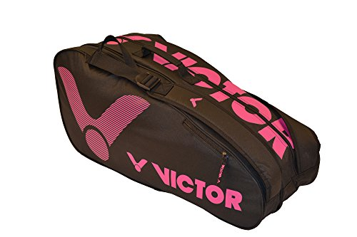 VICTOR VICOR Doublethermobag pink Badminton Tasche, 76x33x26 cm