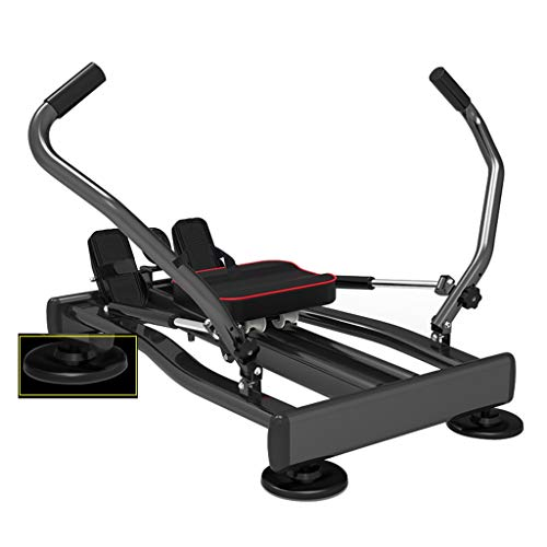 Rowing Machines Concept 2 Model D Swing Arm Trainer Full Body Sports Fitness Equipment (Color : Black, Size : 110 * 57.2cm)