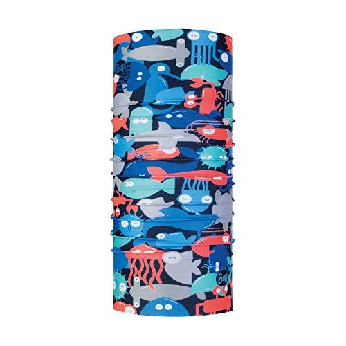 Buff Kinder Coolnet Uv+ Multifunktionstuch, Shoal Blue, One Size