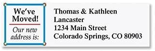 We've Moved Small Return Address Labels - Set of 240 2