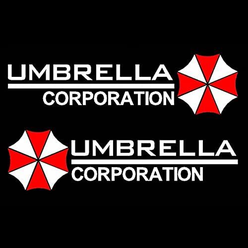 Etiquetas engomadas de automóviles Sombrilla Corporación Decoración Creativa Calcomanías para Espejos retrovisores Auto Tuning Styling Vinyls 15cm * 4 cm (Color : 5, Style : 24x6cm)