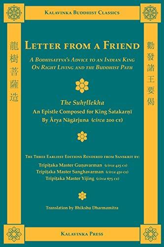 Letter from a Friend (Kalavinka Buddhist Classics)