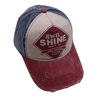 Retro Distressed Ripped Sports Baseball Cap Women Men Outdoor Headwear Sun Hat