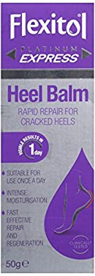 Flexitol Platinum Express Heel Balm, Rapid Repair for Cracked Heels and Dry Feet - 50 g by Thornton Ross Ltd