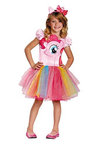 Hasbro's My Little Pony Pinkie Pie Tutu Prestige Girls Costume, Medium/7-8