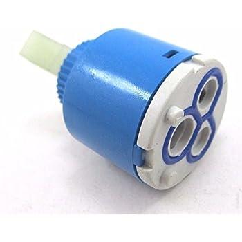Hnf Shop 35mm Single Handle Kitchen Faucet Replacement Ceramic Disc Faucet Cartridge Switch Amazon Com