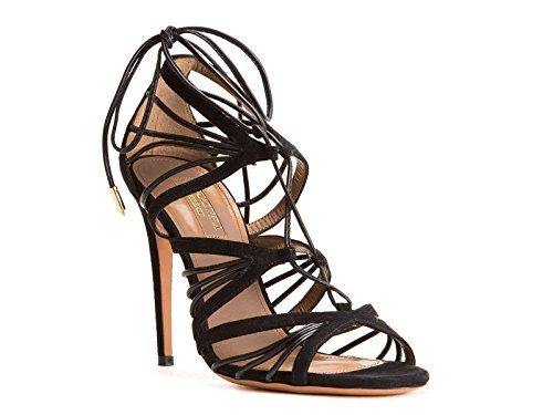 AQUAZZURA, Damen Sandalen, schwarz - Größe: 40 IT / 41 EU